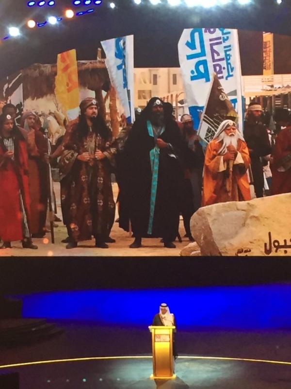 خالد الفيصل يفتتح سوق عكاظ (4)