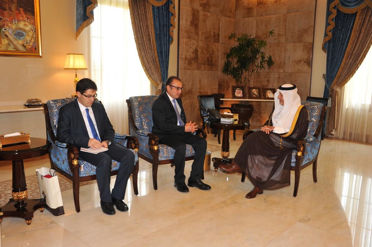 أمير #مكة يستقبل الممثل التركي بمنظمة التعاون الإسلامي - المواطن
