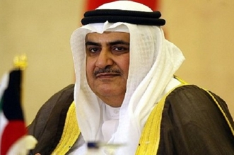 خالد بن احمد وزير خارجية البحرين