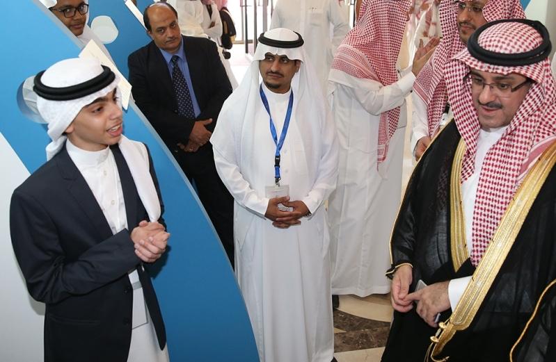 خالد بن عبدالله السبتي انعقاد الأولمبياد الوطني للإبداع العلمي إبداع 2016 (1)