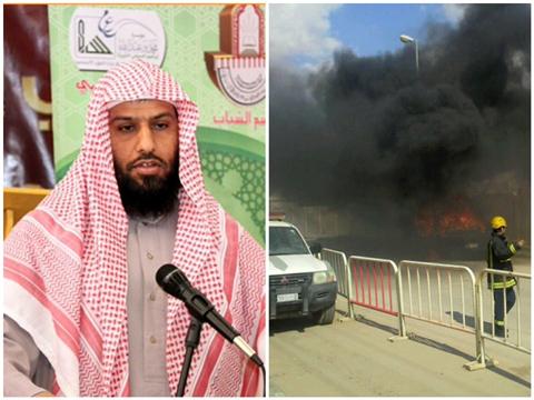 خالد سطمي الشمري خطيب جامع المحمدية برفحاء