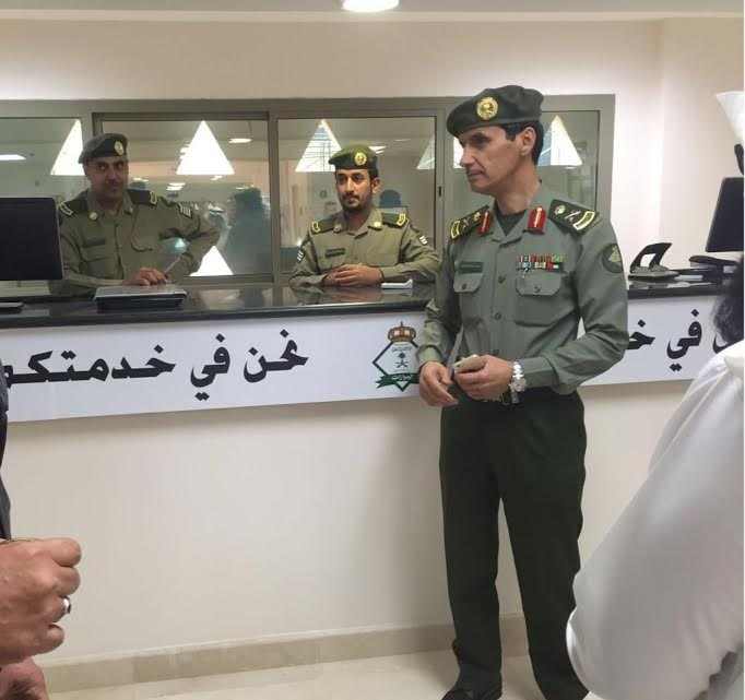 خدمات عدة للمواطنين في شعبة الجوازات بالمركز الإداري بالسلي