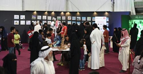 خطاط سعودي ومحكم في مسابقات الخط العربي التابع لوزارة التعليم