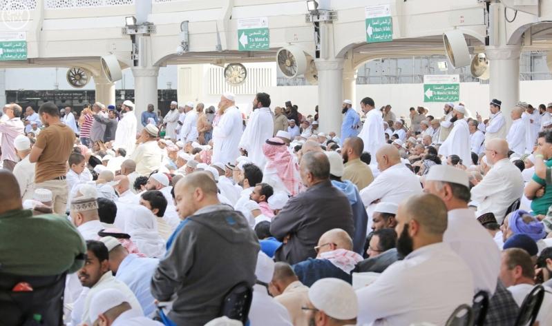 خطبتا الجمعة من المسجد الحرام والمسجد النبوي1