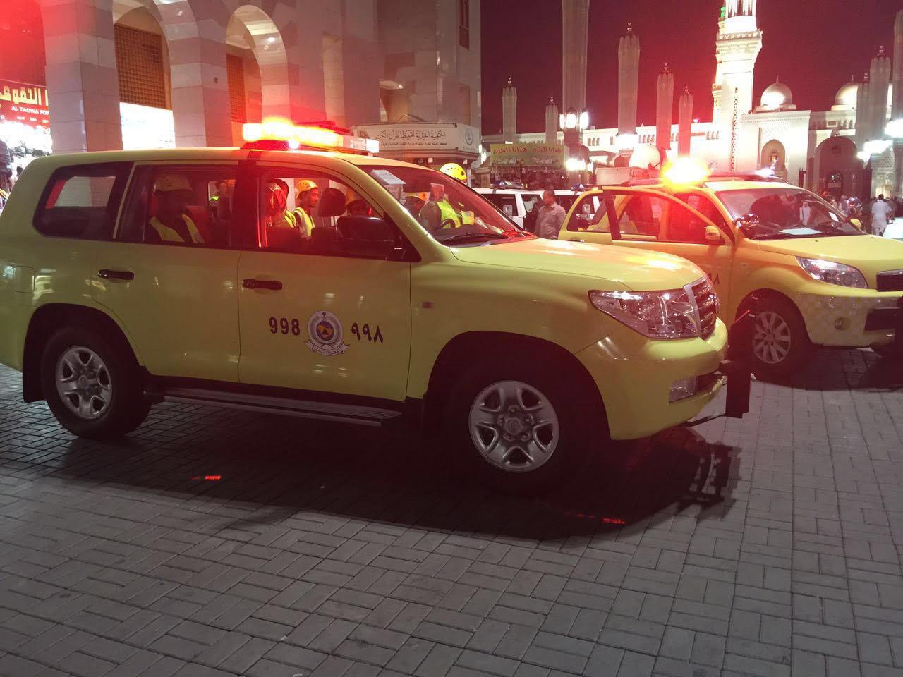 خطة المدني لمواجهة الطوارئ في المدينة المنورة (2)