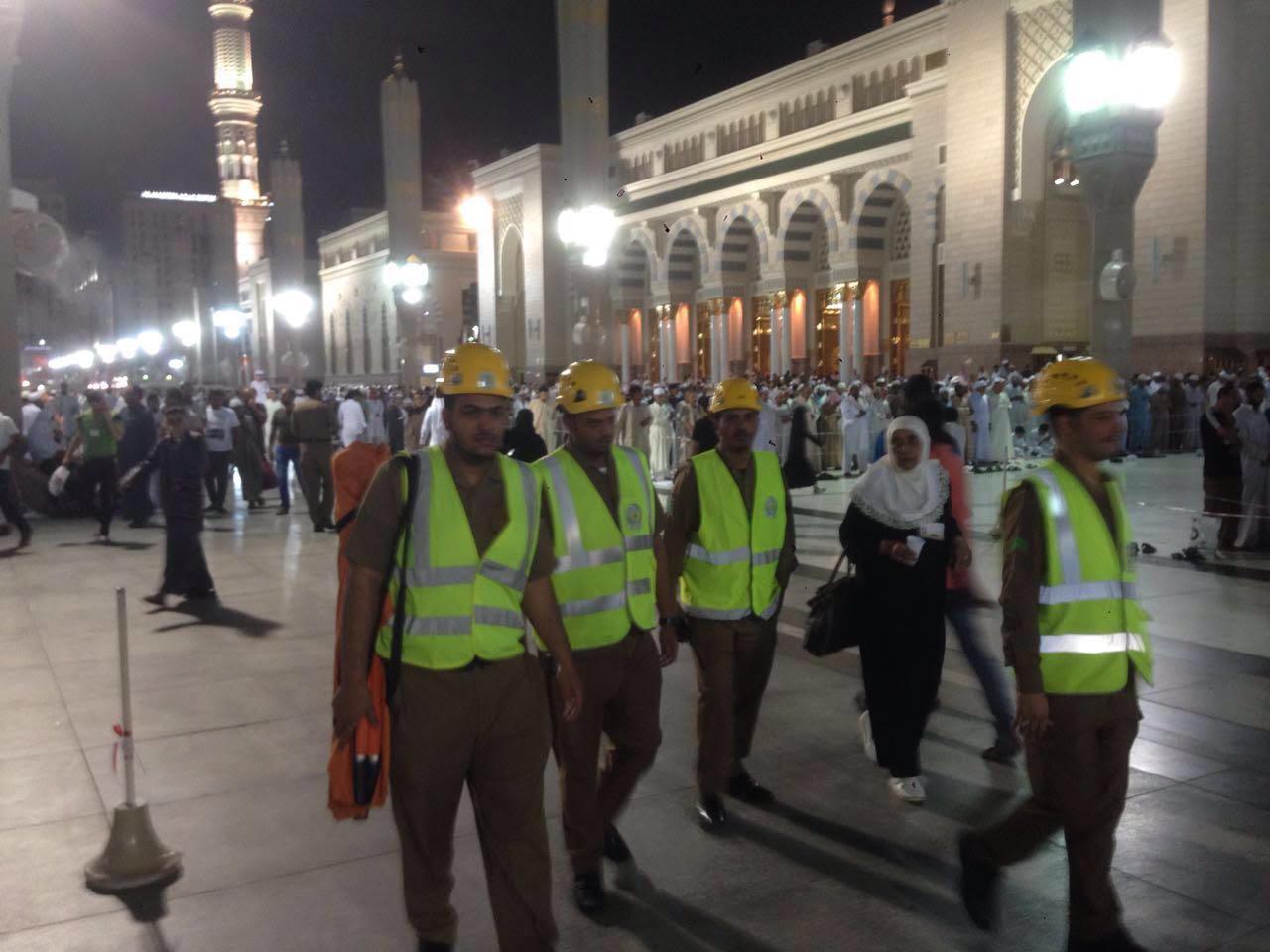 خطة المدني لمواجهة الطوارئ في المدينة المنورة (3)