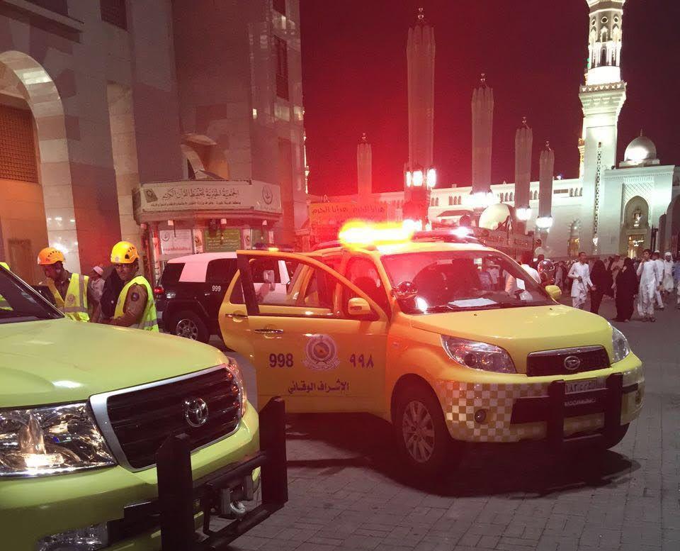 خطة المدني لمواجهة الطوارئ في المدينة المنورة (5)