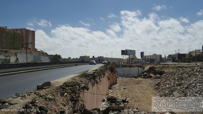 خطر امتداد طريق الملك عبدالعزيز الحزام الدائري بمدينة ابها (3)