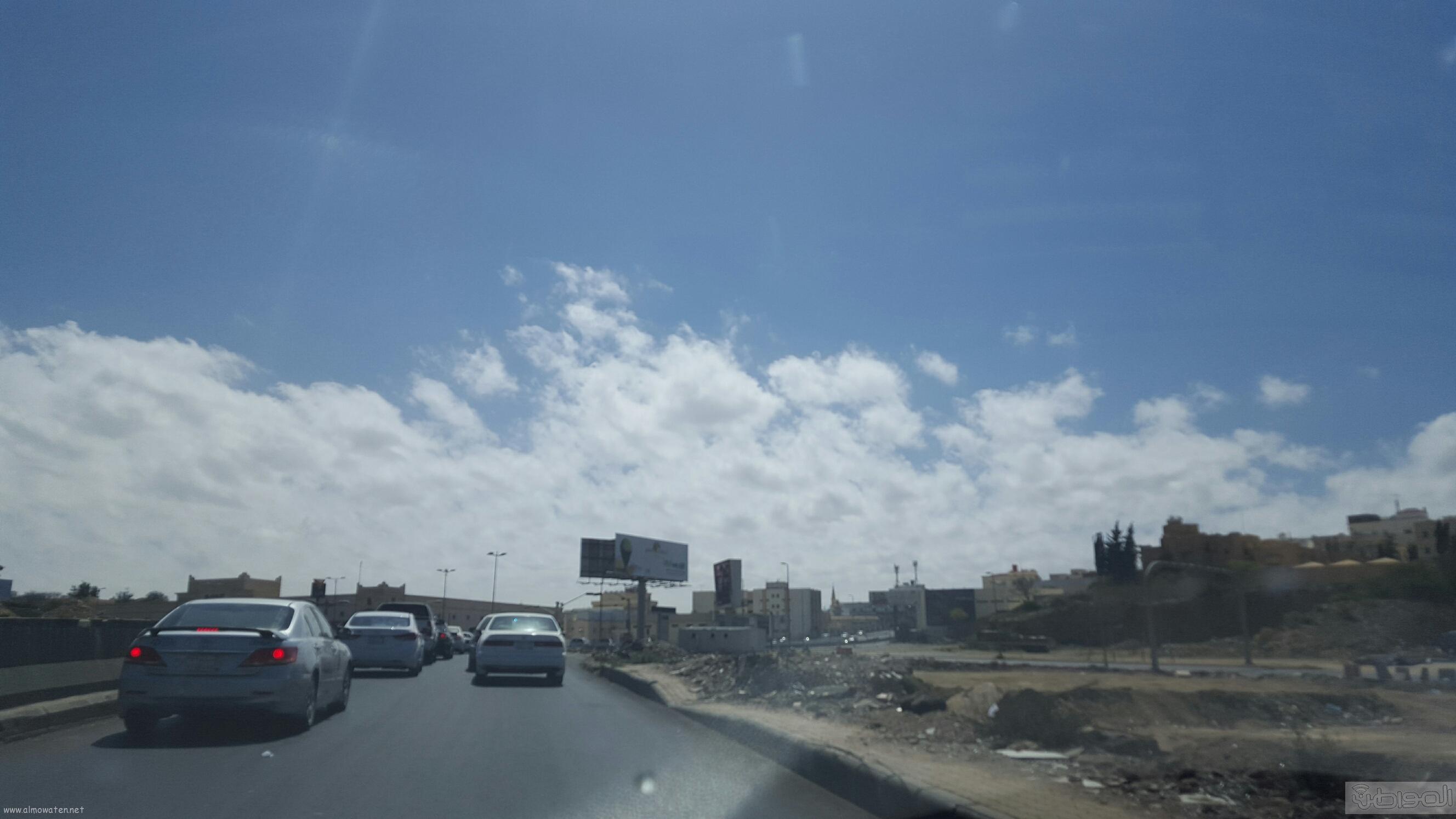 خطر امتداد طريق الملك عبدالعزيز الحزام الدائري بمدينة ابها (4)