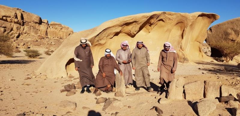 سياحة القصيم تنظم رحلة لمبلغين عن مواقع أثرية جديدة في ضرية