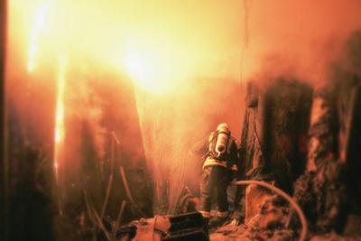 خماد حريق محلات الآثاث13