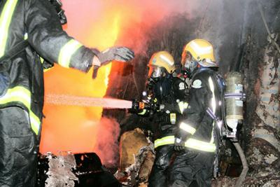 خماد حريق محلات الآثاث4
