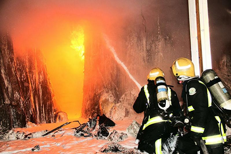 خماد حريق محلات الآثاث9