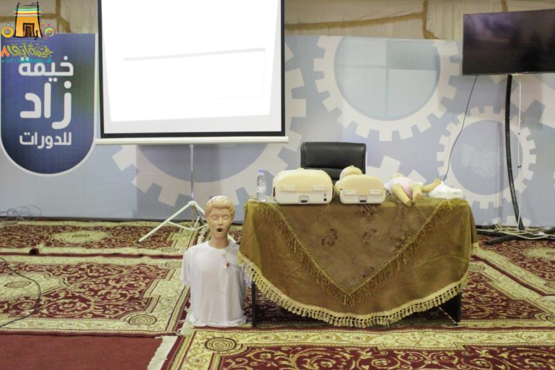 خيمة أبها الدعوية اليوم السادس (10)