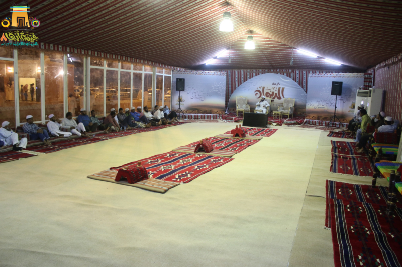 خيمة أبها الدعوية اليوم السادس (15)