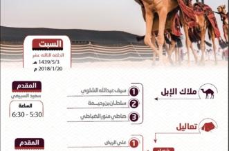 30 رسـمًا تُشكل خارطة فنية على أجساد الإبل في متنزه تعاليل - المواطن