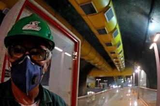 داخل محطة لمترو الأنفاق في ريو