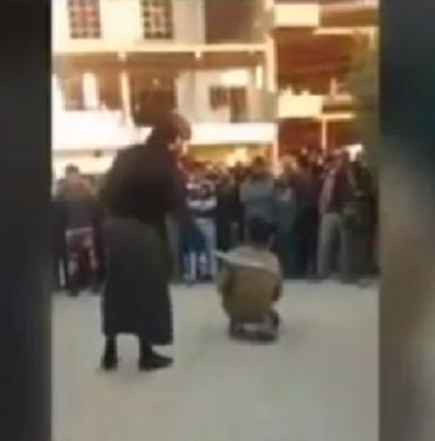 داعش-يجلد-طفل