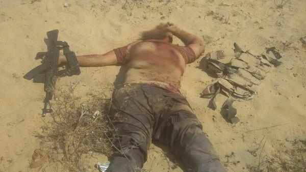 """الجيش المصري يقتل """"الهرم"""" أبرز قيادات داعش سيناء"""