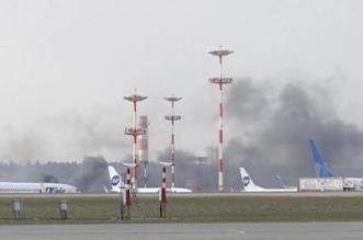 حقيقة الدخان الكثيف بمطار موسكو قبل وصول وزير الخارجية الأميركي - المواطن