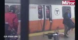 دخان يثير ذعر الركاب في المترو