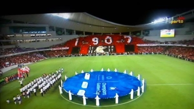 دخلة تاريخية لجماهير النادي الأهلي في الإمارات (1) 
