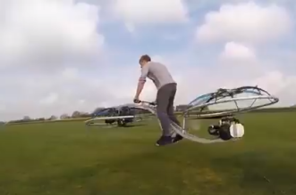 دراجة طائرة