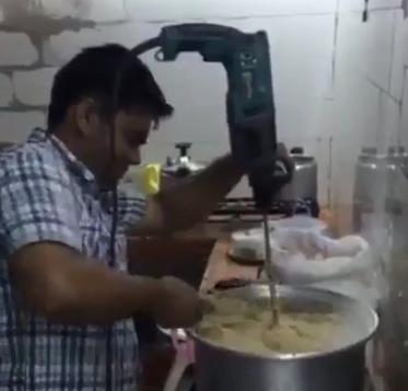 دريل اعداد وجبة شعبية بالمجاردة