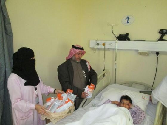 دشن نيابة عن مدير مستشفى الاطفال بالطائف المساعد الطبي الدكتور مطر المالكي (3)