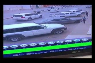 بالفيديو.. دهس طفل أثناء عبوره أحد الشوارع في طريف - المواطن