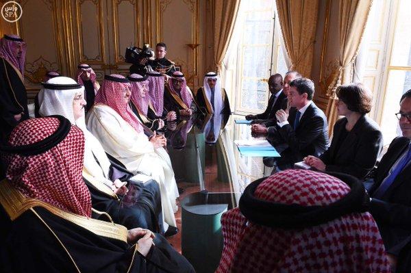 دولة رئيس الوزراء الفرنسي يستقبل #سمو_ولي_العهد 2