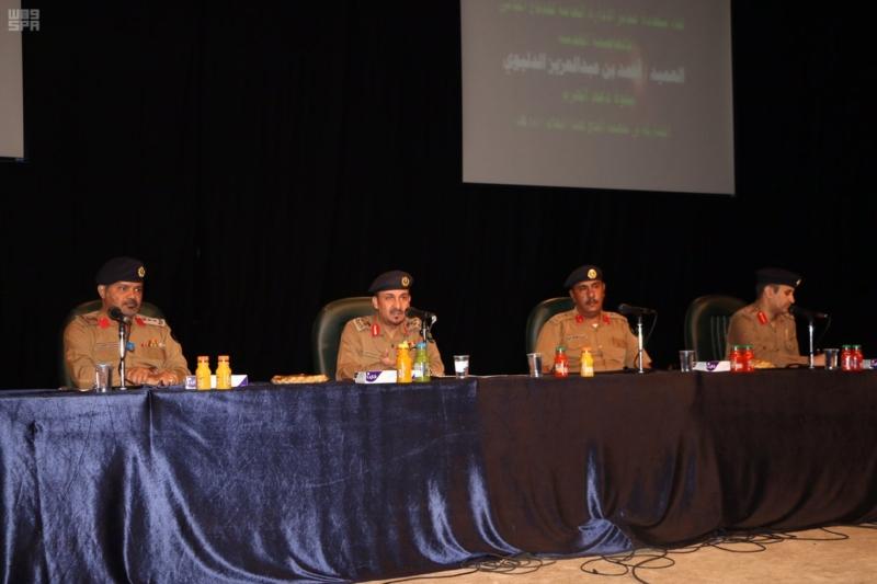 دير الدفاع المدني بالعاصمة المقدسة يلتقي قوة دعم المسجد الحرام 1