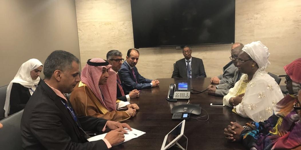 الغفيص يبحث التعاون المشترك مع وزيرة العمل الموريتانية في جنيف