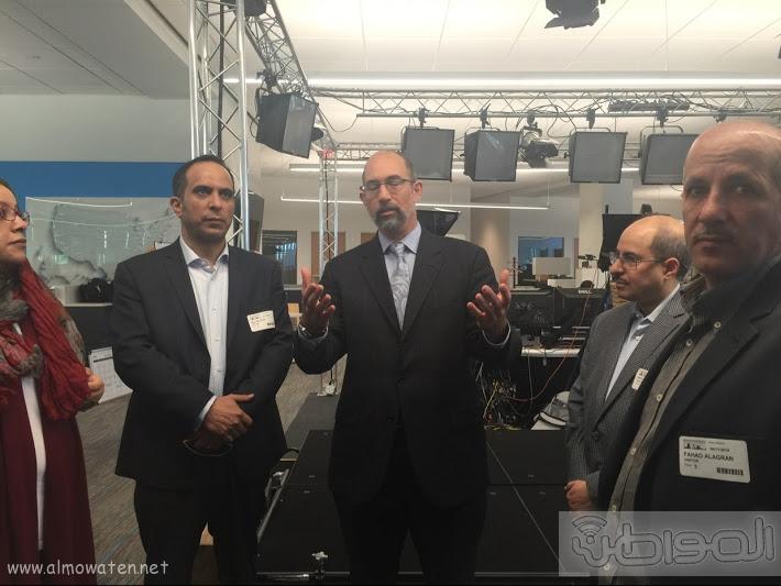 رؤساء التحرير بواشنطن بزيارة محمد بن سلمان (5)