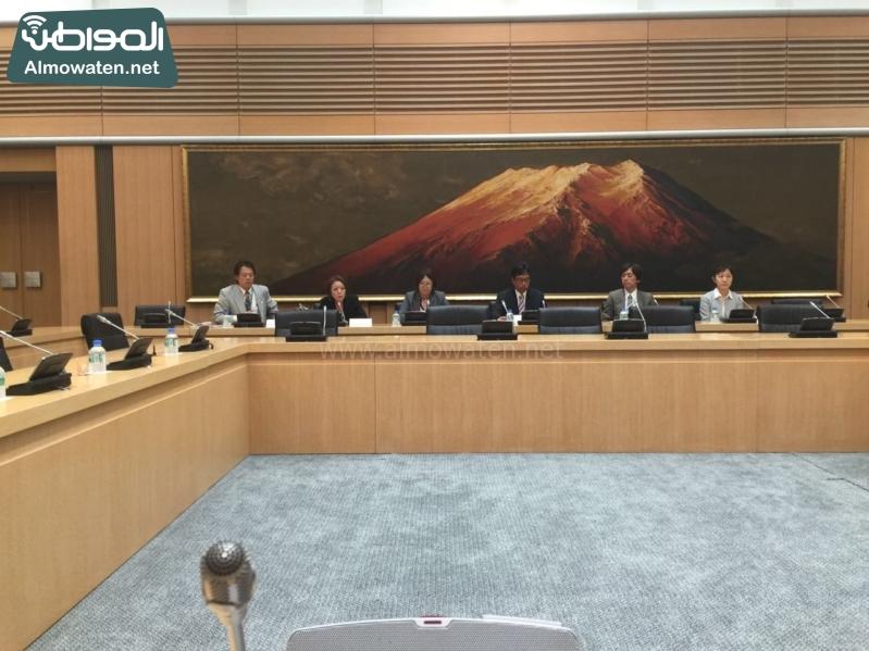 رؤساء التحرير في زيارة لشبكة فوجي اليابانية5