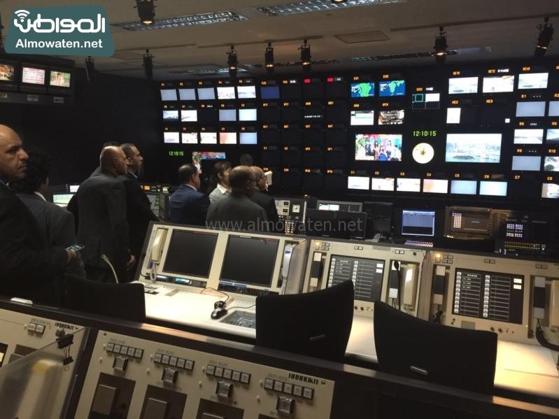 رؤساء التحرير في زيارة لشبكة فوجي اليابانية6