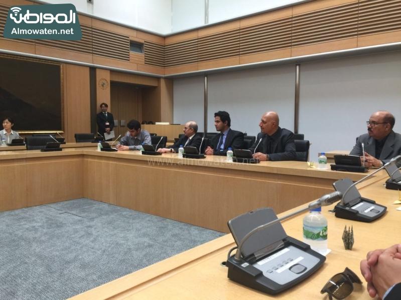 رؤساء التحرير في زيارة لشبكة فوجي اليابانية9