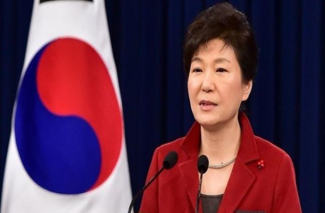 رئيسة كوريا الجنوبية باك جون هاي