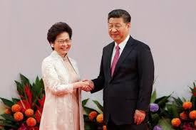 رئيسة هونج كونج التنفيذية الجديدة تؤدي اليمين أمام الرئيس الصيني - المواطن