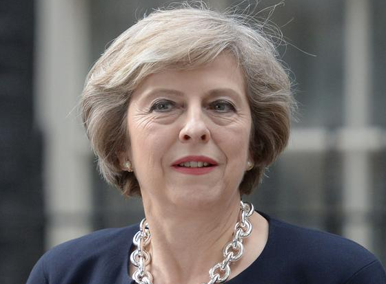 رئيسة وزراء برطانيا