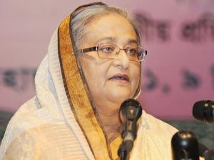 رئيسة وزراء بنجلاديش الشيخة حسينة