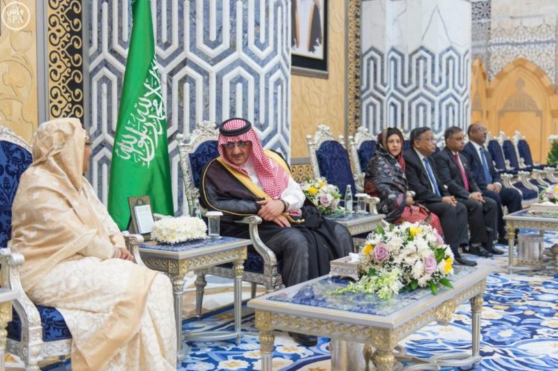 رئيسة وزراء بنجلاديش تصل الى جدة في زيارة رسمية للمملكة3
