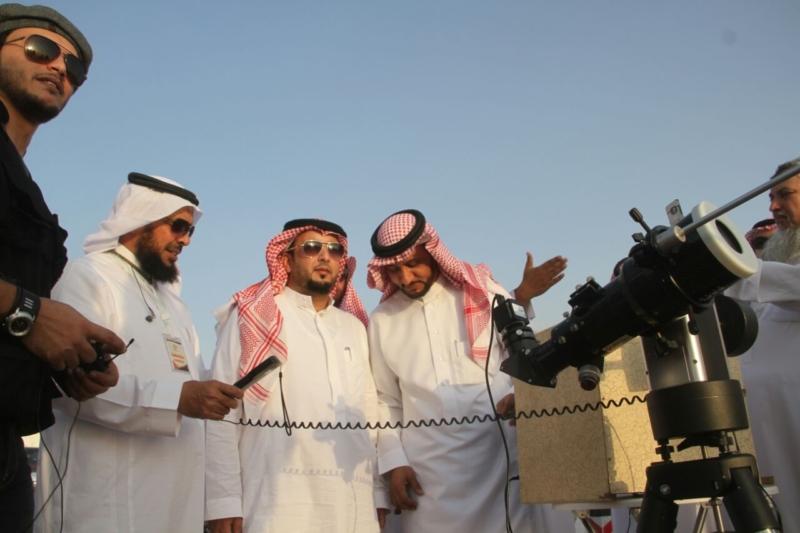 رئيس الأهلي في مرصد هلال رمضان بجبال الهدا (1) 