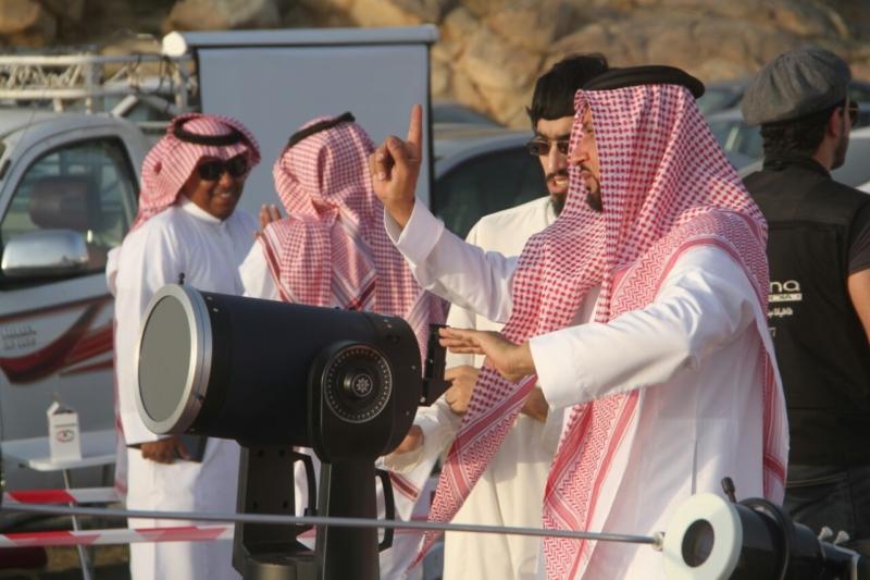 رئيس الأهلي في مرصد هلال رمضان بجبال الهدا (174768693) 