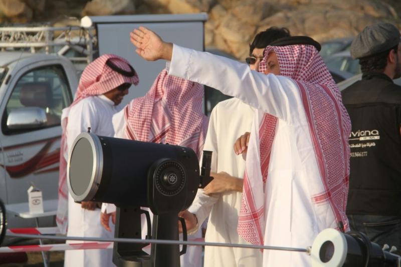 رئيس الأهلي في مرصد هلال رمضان بجبال الهدا (174768694) 