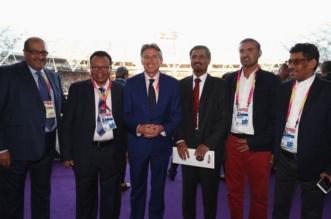 الاتحاد الدولي لألعاب القوى يكرم الزايدي - المواطن