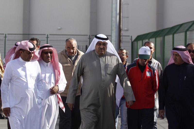 رئيس الاتحاد السعودي لألعاب القوى صاحب السمو الأمير نواف بن محمد يزور نادي ضمك 2