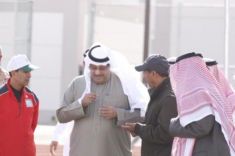 رئيس الاتحاد السعودي لألعاب القوى صاحب السمو الأمير نواف بن محمد يزور نادي ضمك