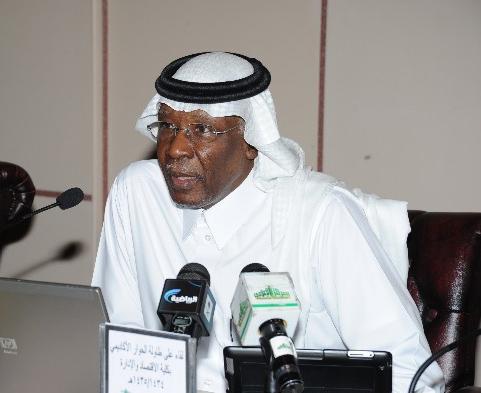 رئيس الاتحاد السعودي لكرة القدم ورئيس اللجنة العليا لمهرجان اليوم العالمي والعائلي (فيفا) الأستاذ أحمد بن عيد الحربي