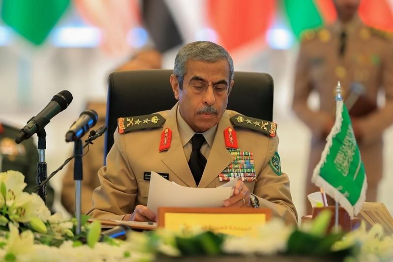 رئيس الاركان مؤتمر التحالف الإسلامي لمحاربة داعش1